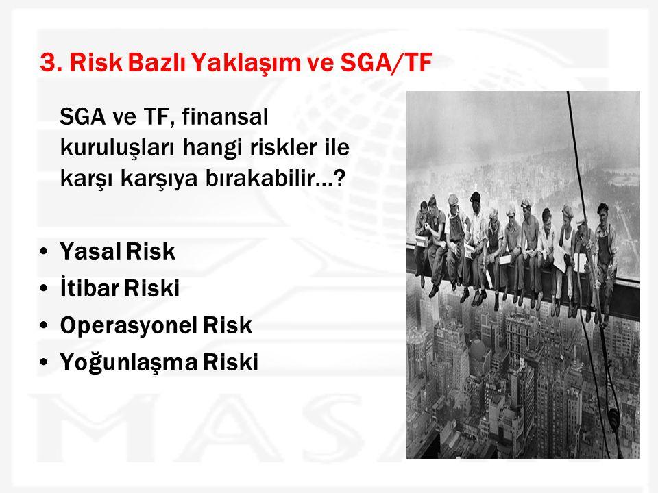 3. Risk Bazlı Yaklaşım ve SGA/TF
