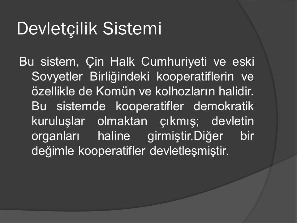 Devletçilik Sistemi