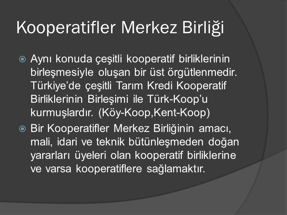 Kooperatifler Merkez Birliği