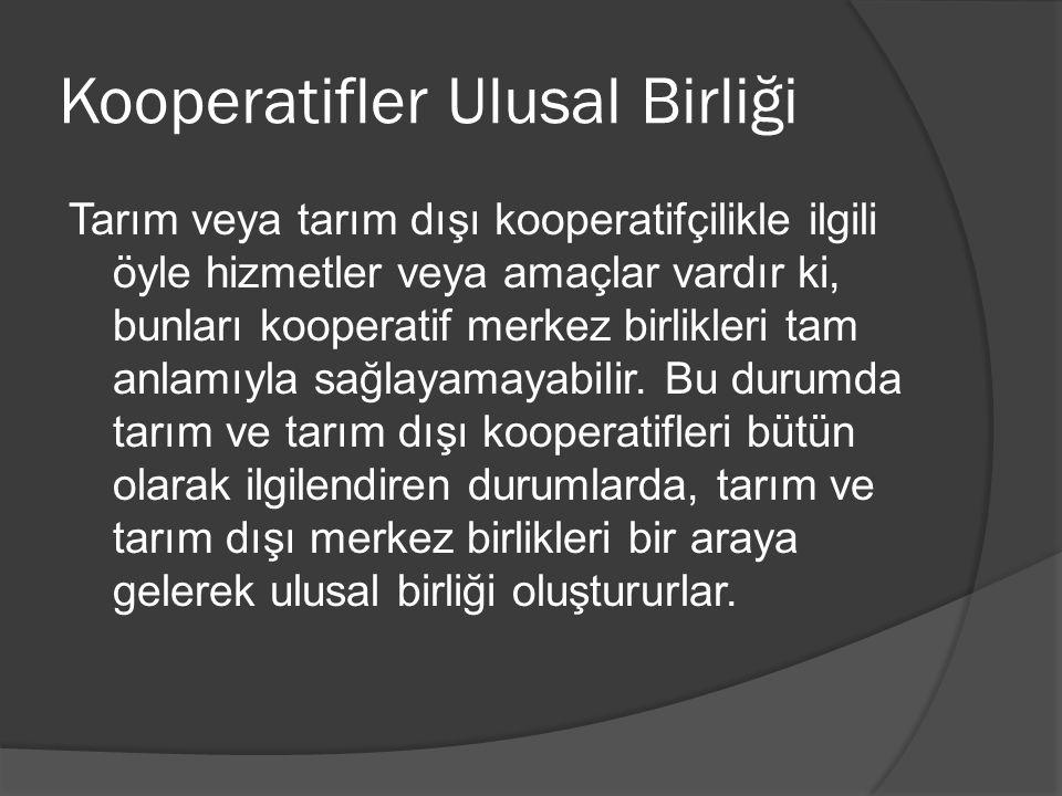 Kooperatifler Ulusal Birliği