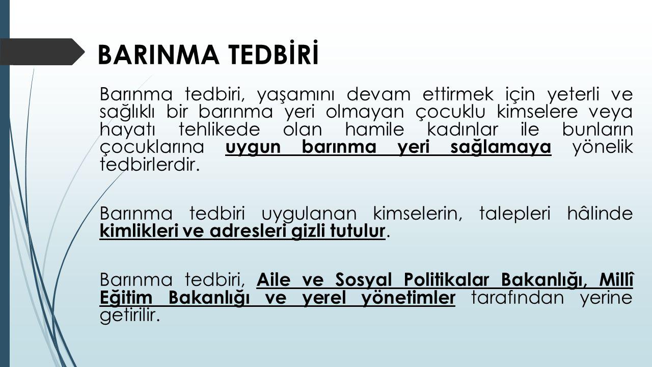 BARINMA TEDBİRİ