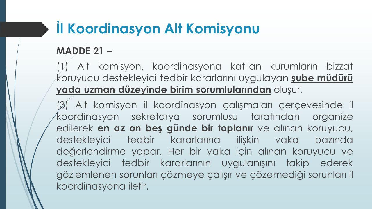 İl Koordinasyon Alt Komisyonu