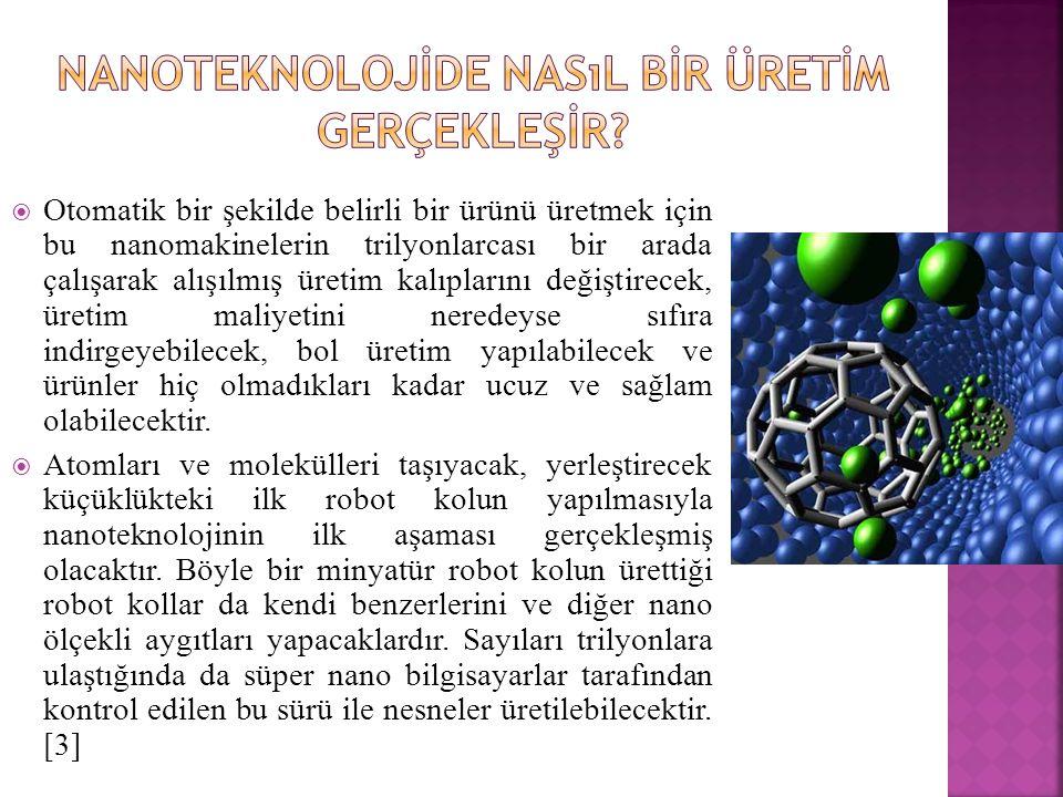 Nanoteknolojİde Nasıl Bİr Üretİm Gerçekleşİr