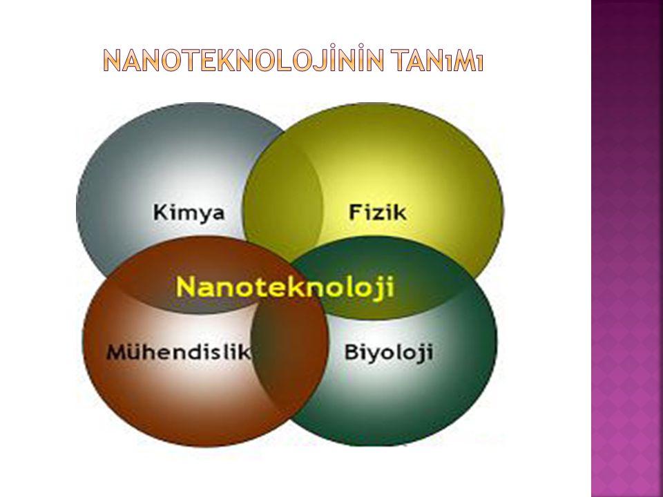 Nanoteknolojİnİn tanımı