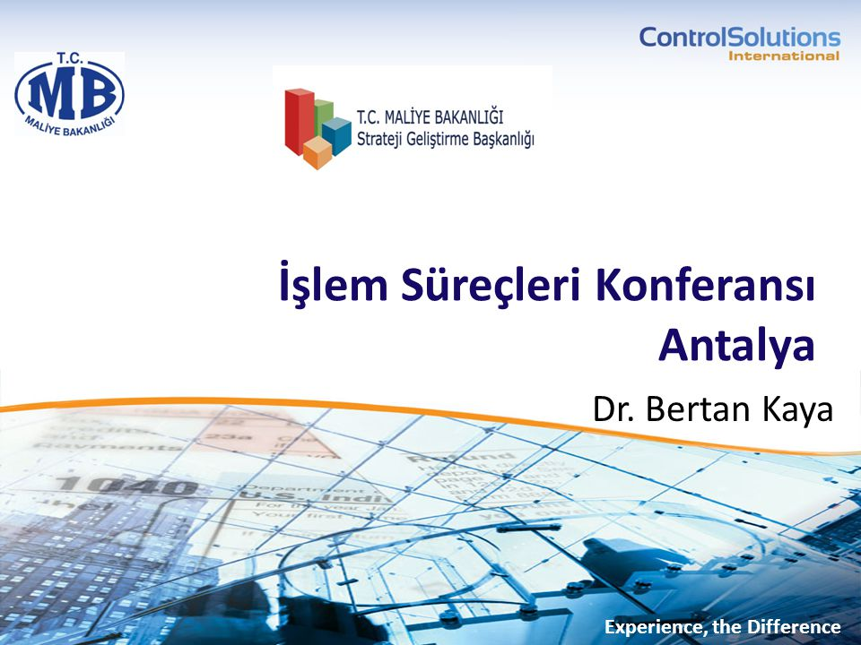 İşlem Süreçleri Konferansı Antalya