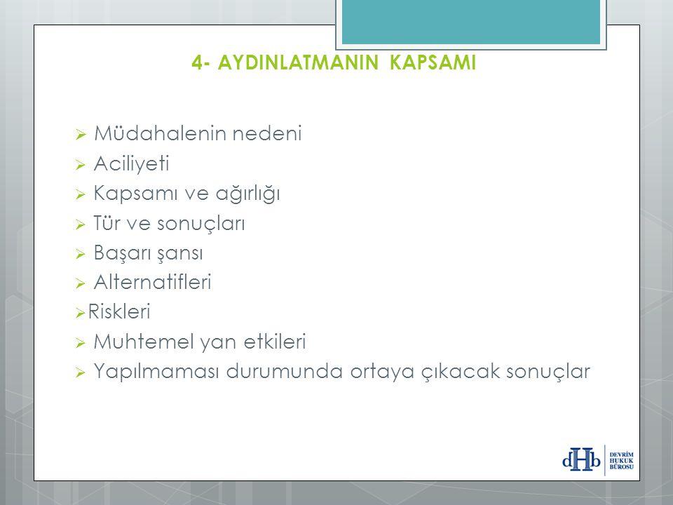 4- AYDINLATMANIN KAPSAMI