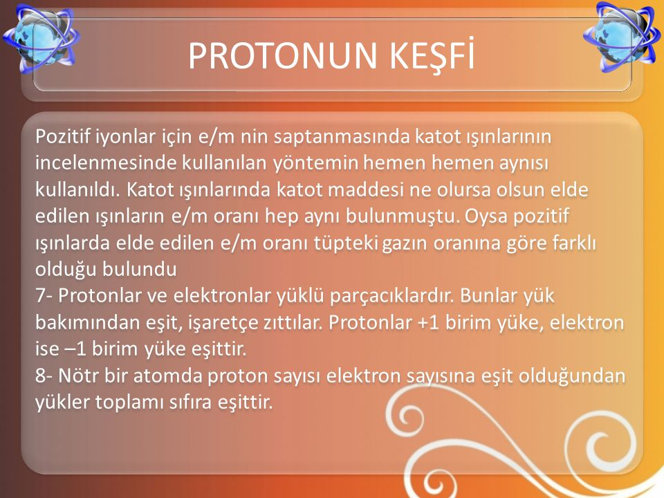 PROTONUN KEŞFİ