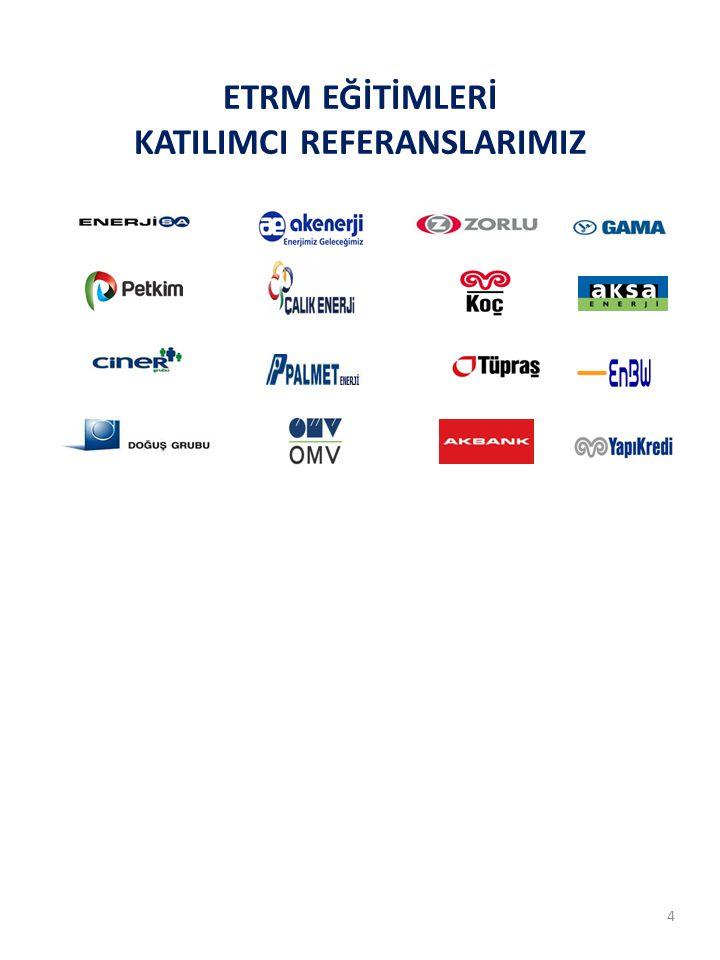 ETRM EĞİTİMLERİ KATILIMCI REFERANSLARIMIZ