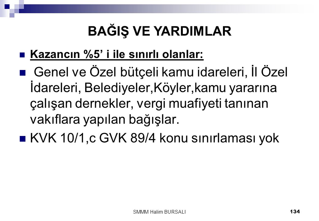 KVK 10/1,c GVK 89/4 konu sınırlaması yok