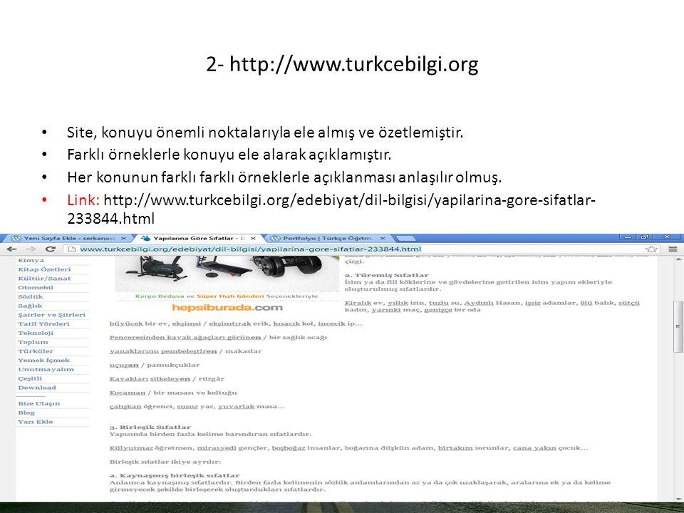 2- http://www.turkcebilgi.org