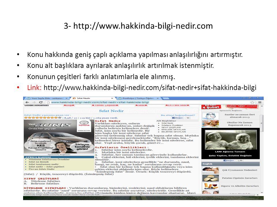 3- http://www.hakkinda-bilgi-nedir.com