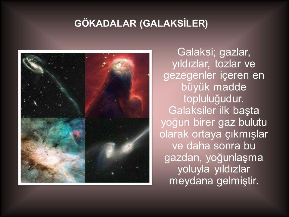 GÖKADALAR (GALAKSİLER)
