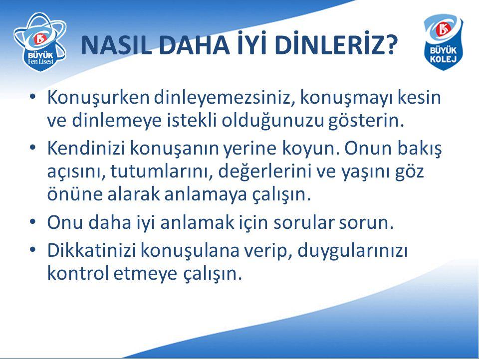 NASIL DAHA İYİ DİNLERİZ
