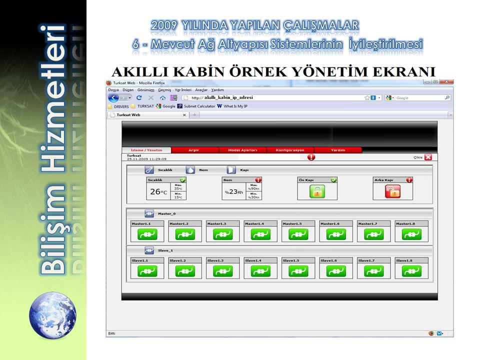 6 - Mevcut Ağ Altyapısı Sistemlerinin İyileştirilmesi