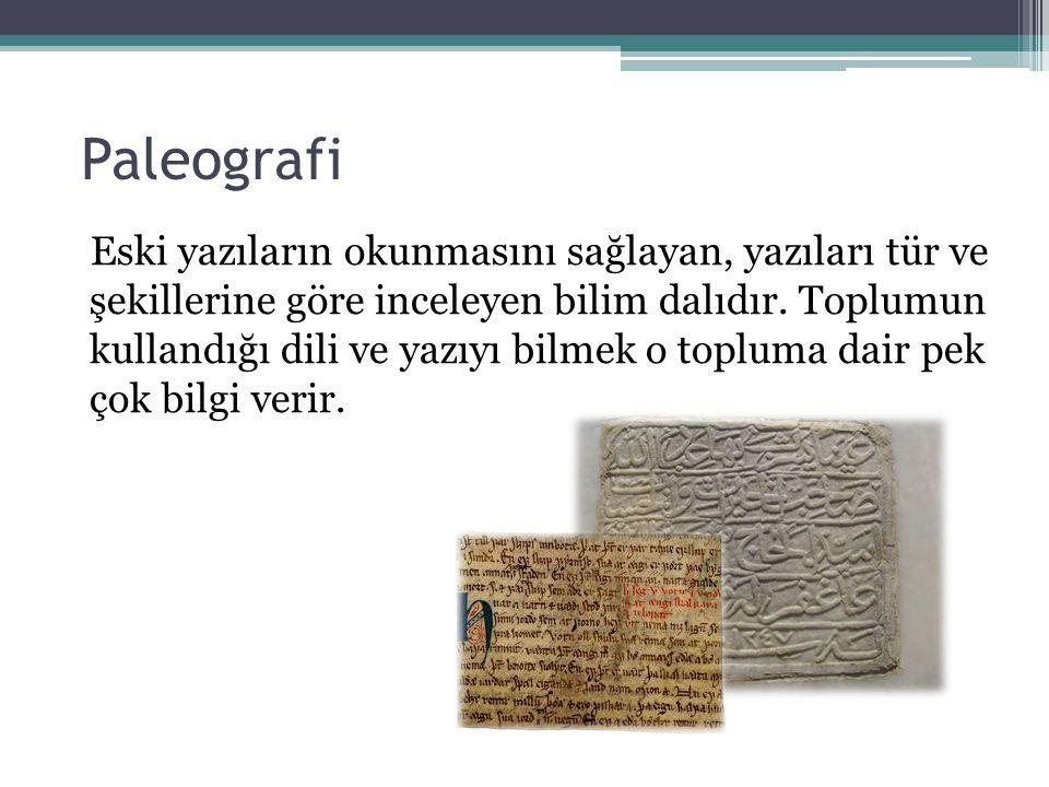 Paleografi