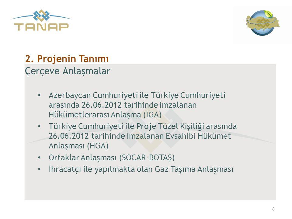 2. Projenin Tanımı Çerçeve Anlaşmalar