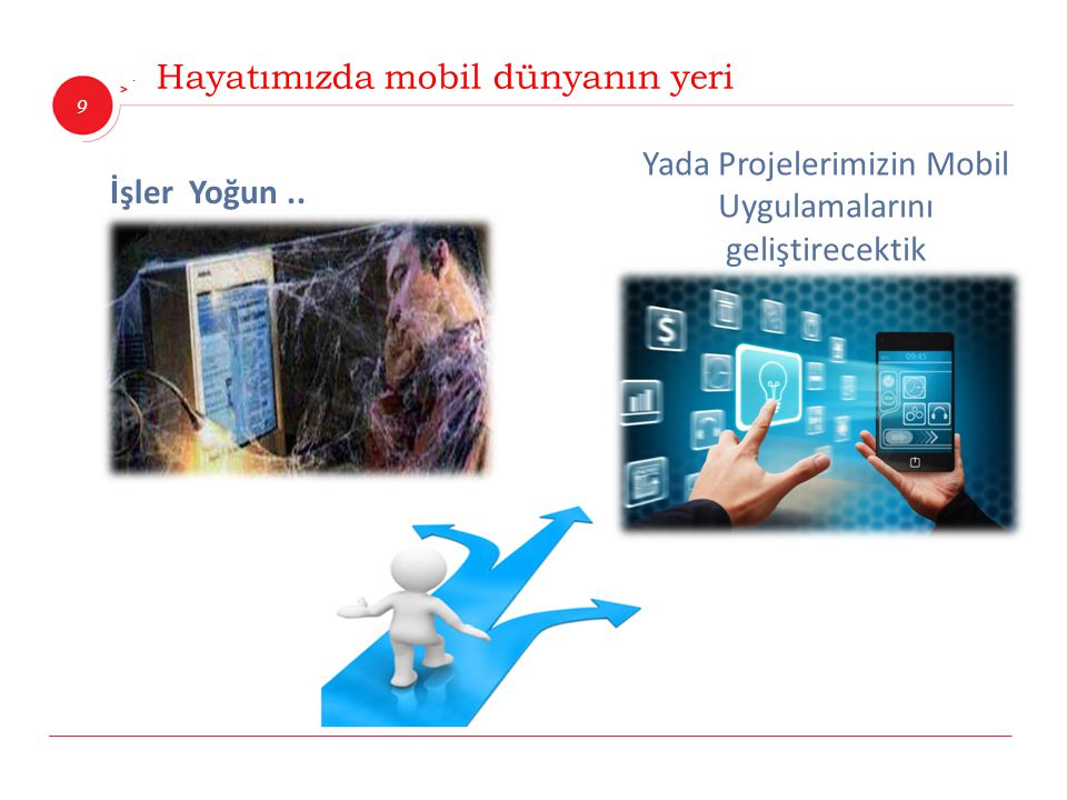 Yada Projelerimizin Mobil Uygulamalarını geliştirecektik