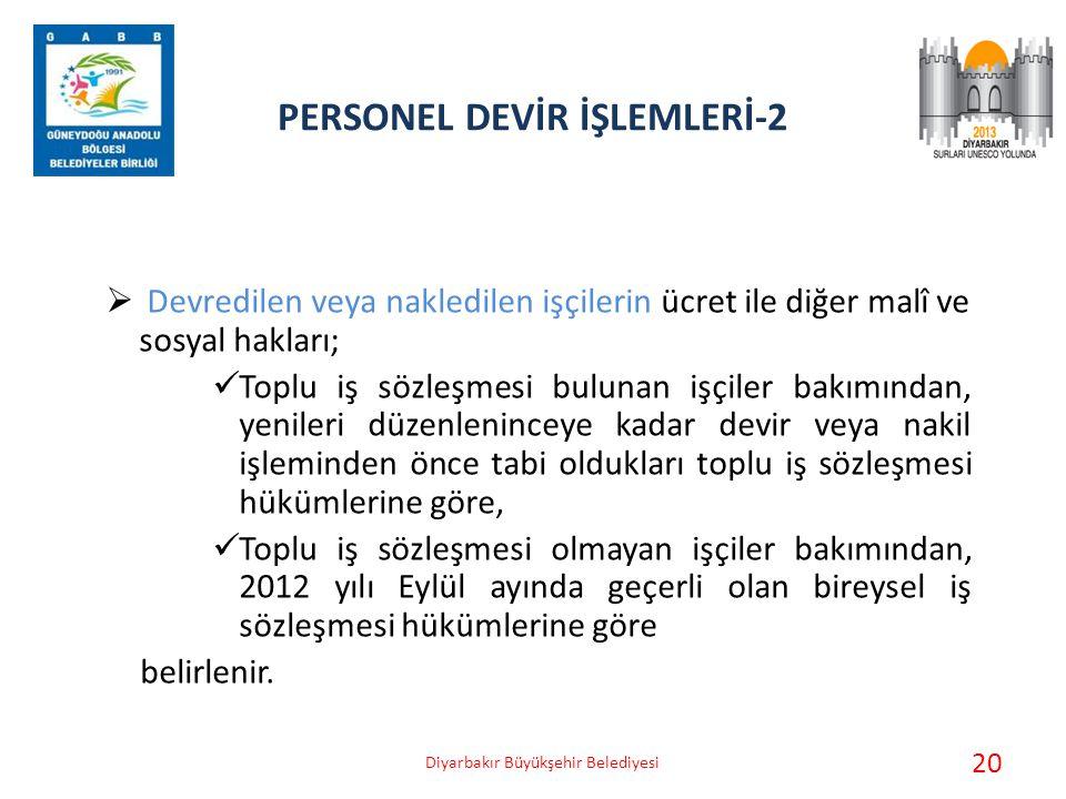 PERSONEL DEVİR İŞLEMLERİ-2