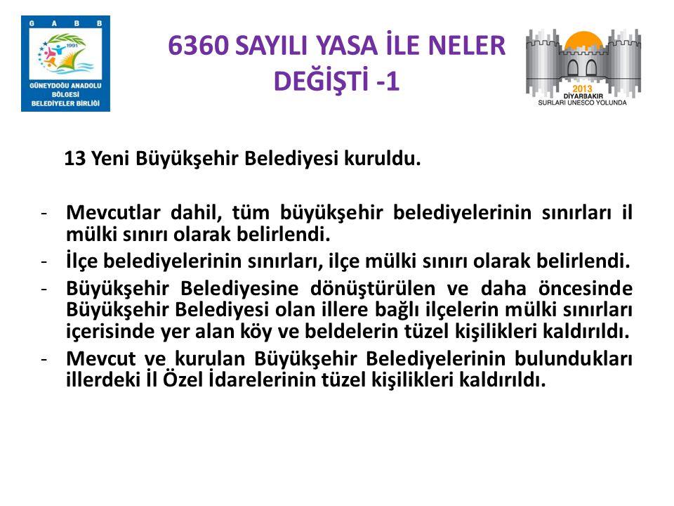 6360 SAYILI YASA İLE NELER DEĞİŞTİ -1