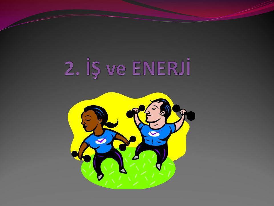 2. İŞ ve ENERJİ