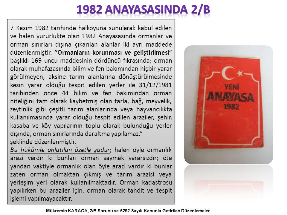 1982 anayasasInda 2/B