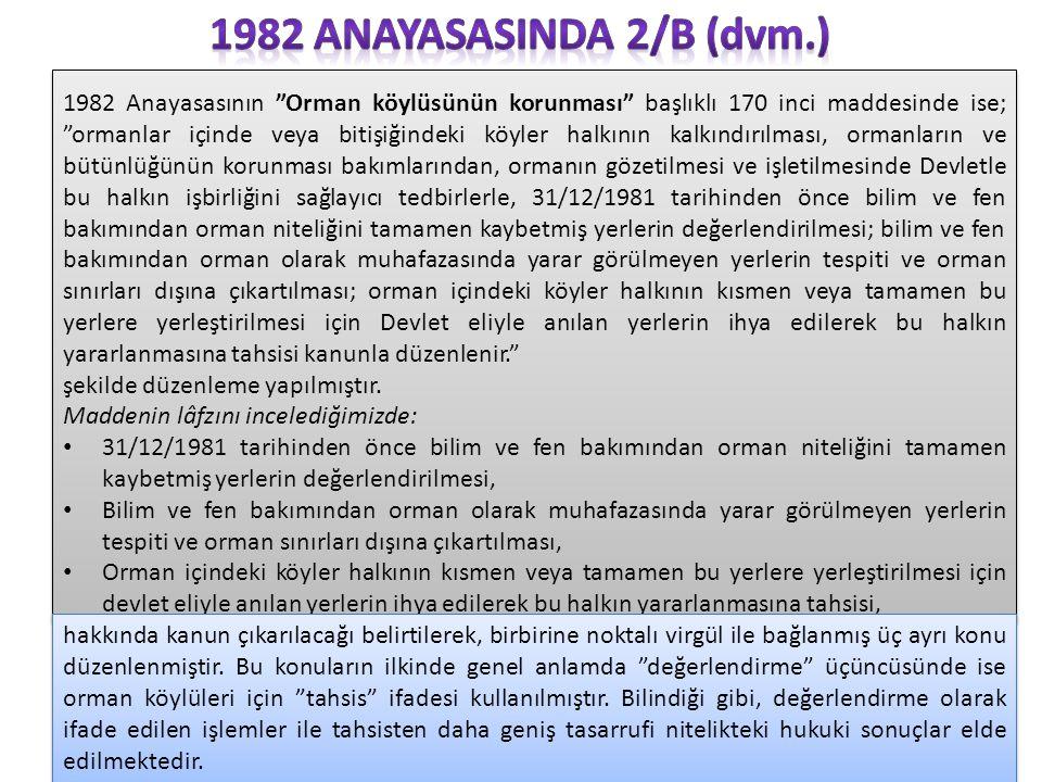 1982 anayasasInda 2/B (dvm.)