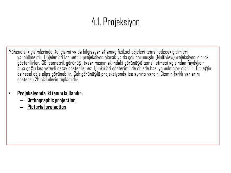 4.1. Projeksiyon