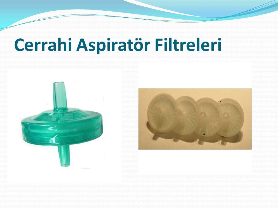 Cerrahi Aspiratör Filtreleri