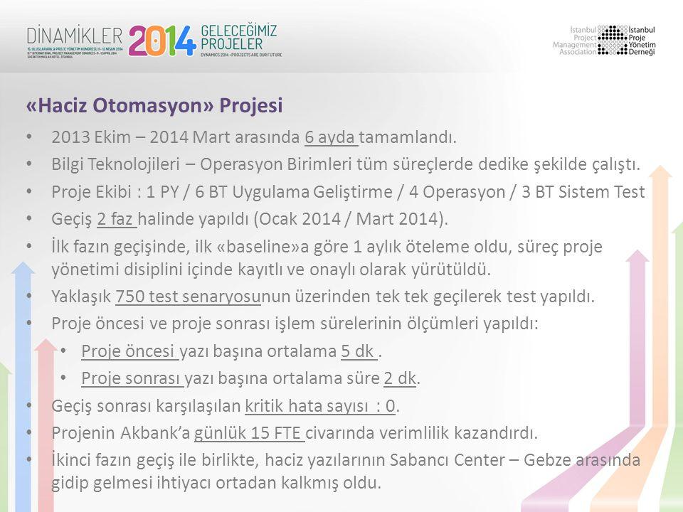«Haciz Otomasyon» Projesi