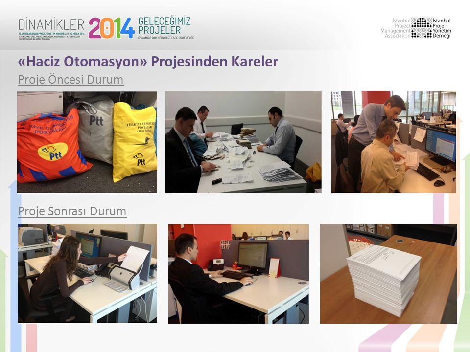 «Haciz Otomasyon» Projesinden Kareler