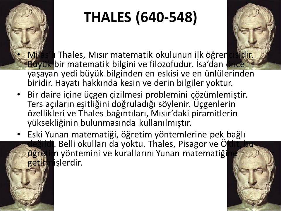 THALES (640-548)
