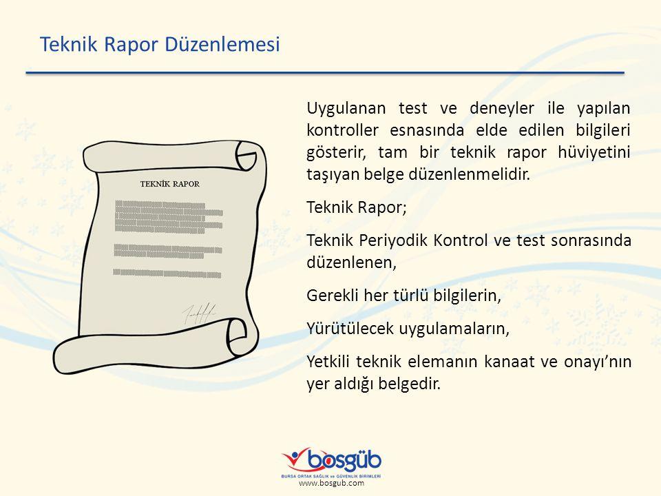 Teknik Rapor Düzenlemesi