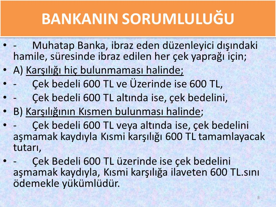 GAZİ TAŞ BANKANIN SORUMLULUĞU. 2/17/2010.