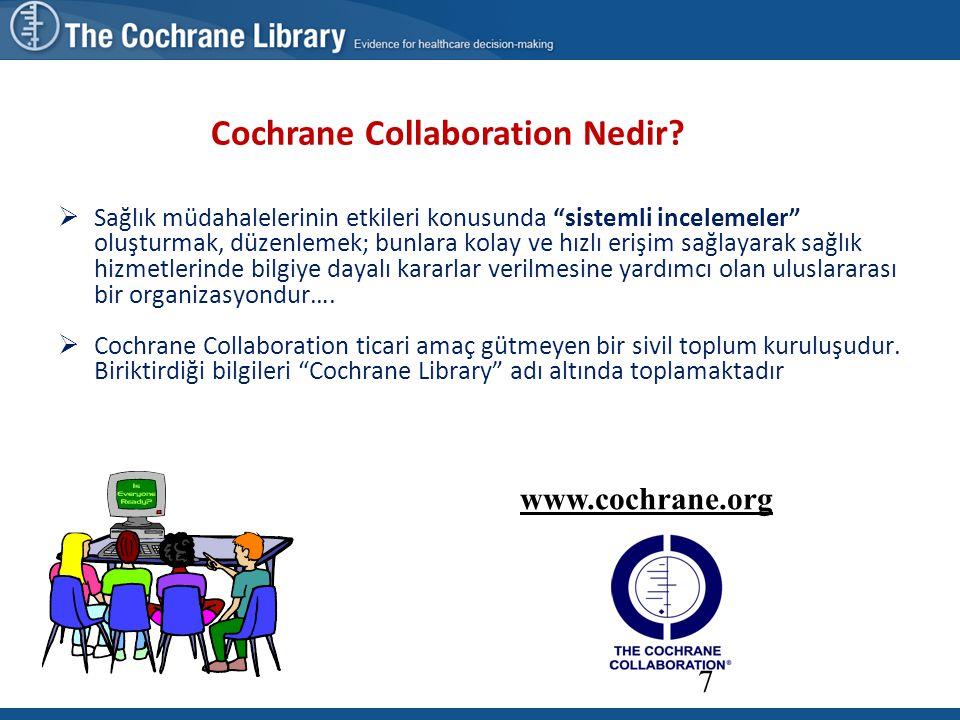 Cochrane Collaboration Nedir