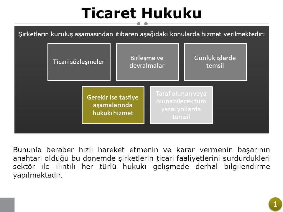 Ticaret Hukuku Ticari sözleşmeler Birleşme ve devralmalar