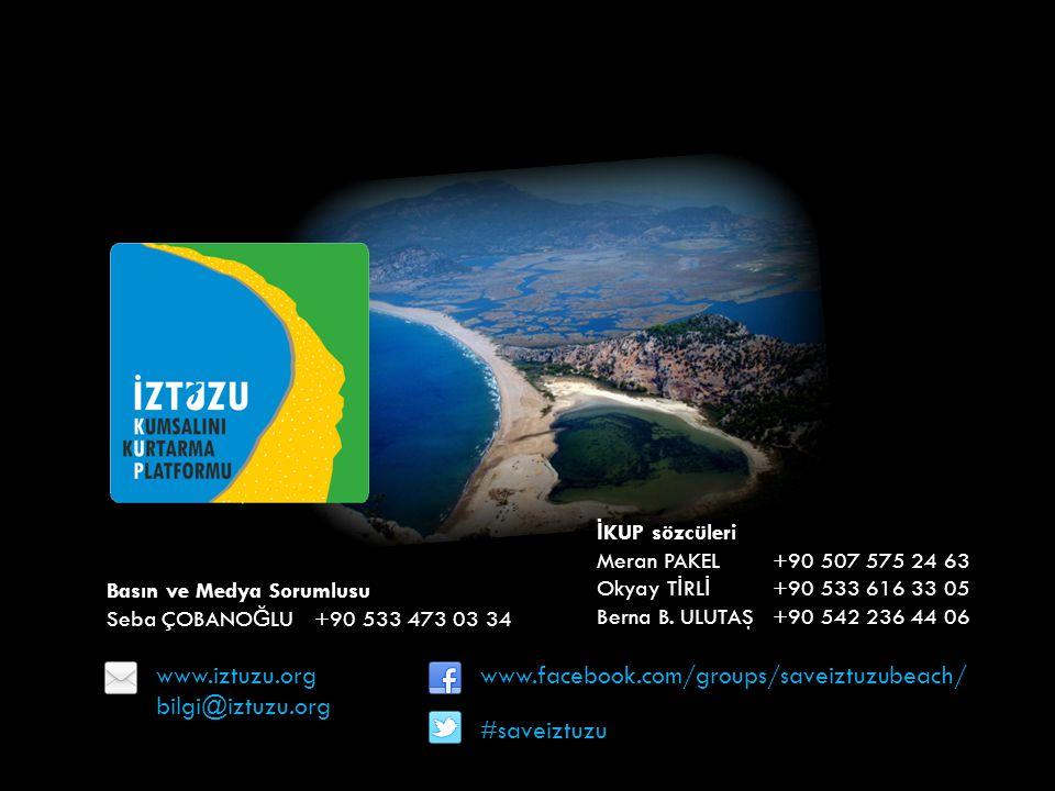 www.iztuzu.org bilgi@iztuzu.org