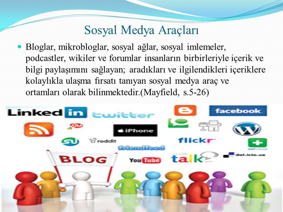 Sosyal Medya Araçları