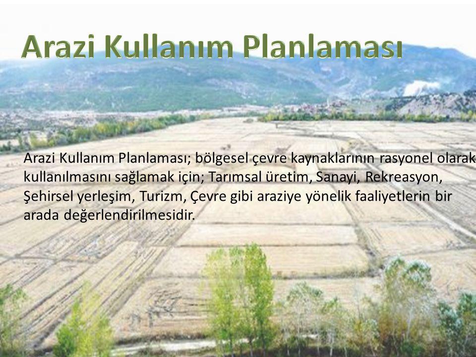 Arazi Kullanım Planlaması