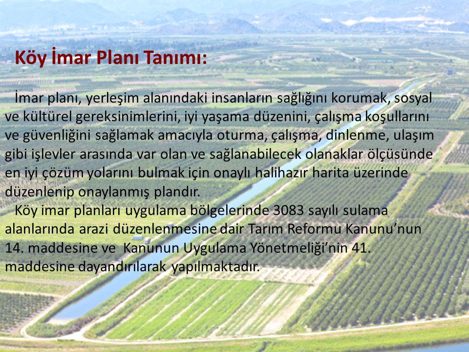 Köy İmar Planı Tanımı: