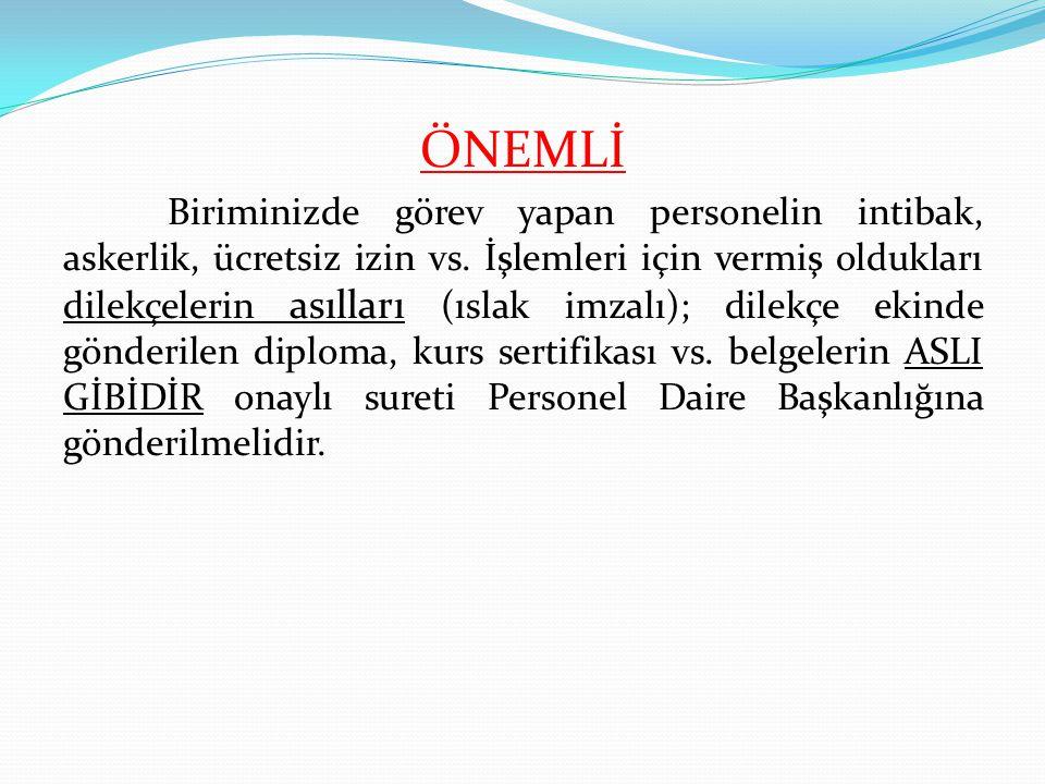 ÖNEMLİ
