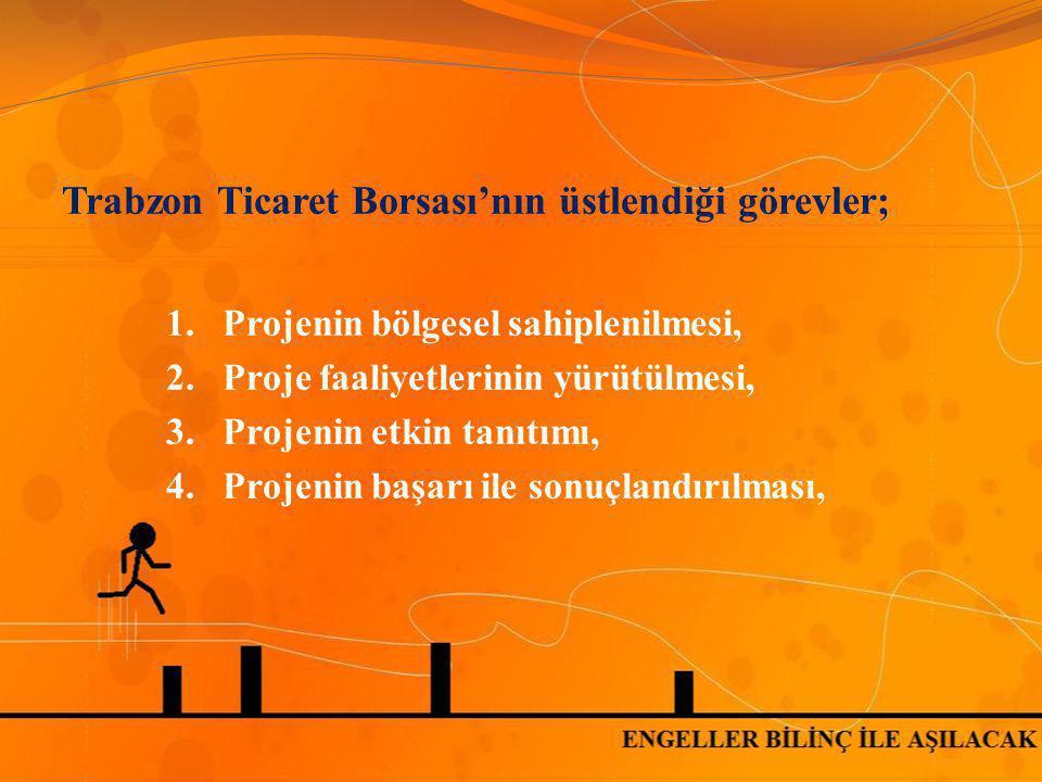 Trabzon Ticaret Borsası'nın üstlendiği görevler;