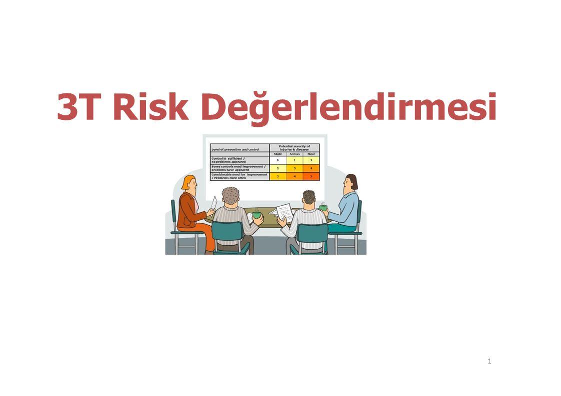3T Risk Değerlendirmesi