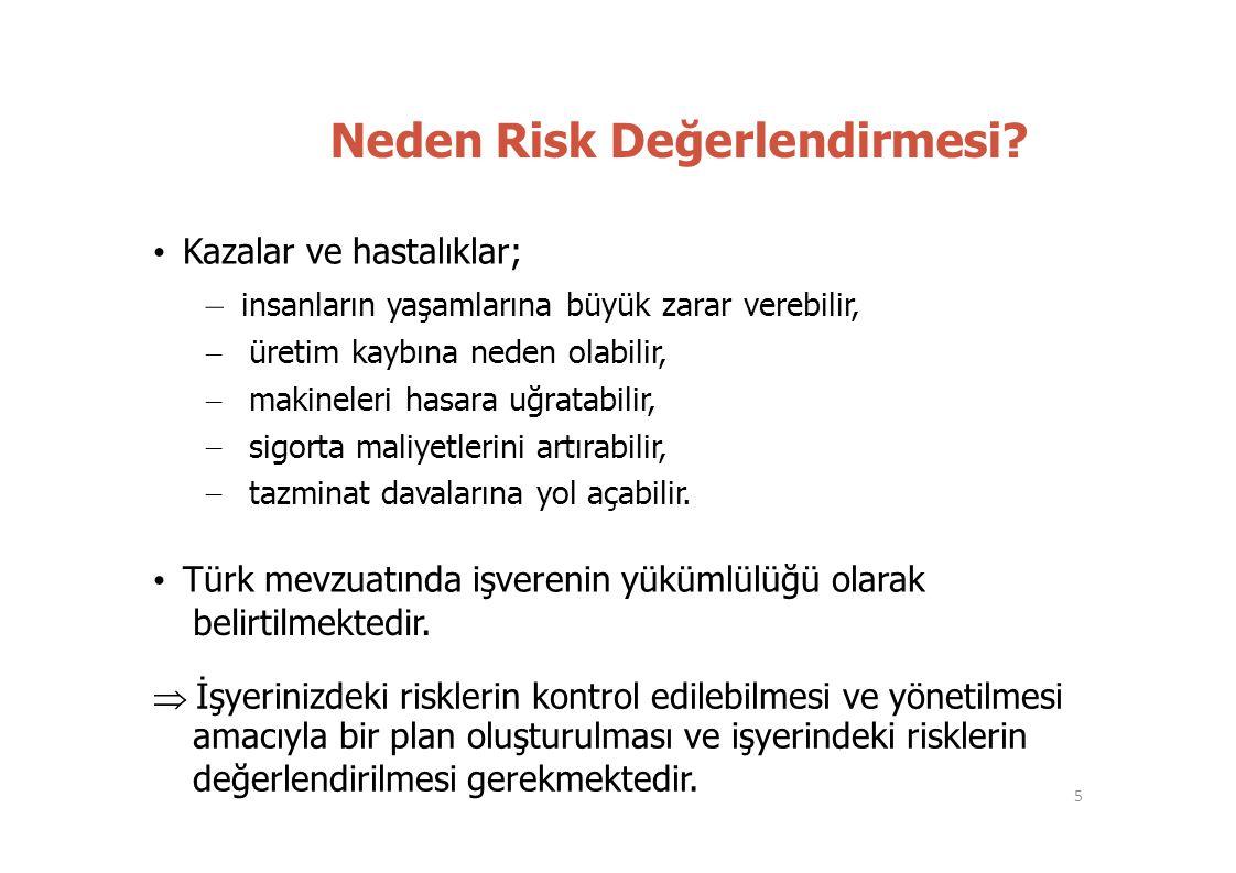 Neden Risk Değerlendirmesi