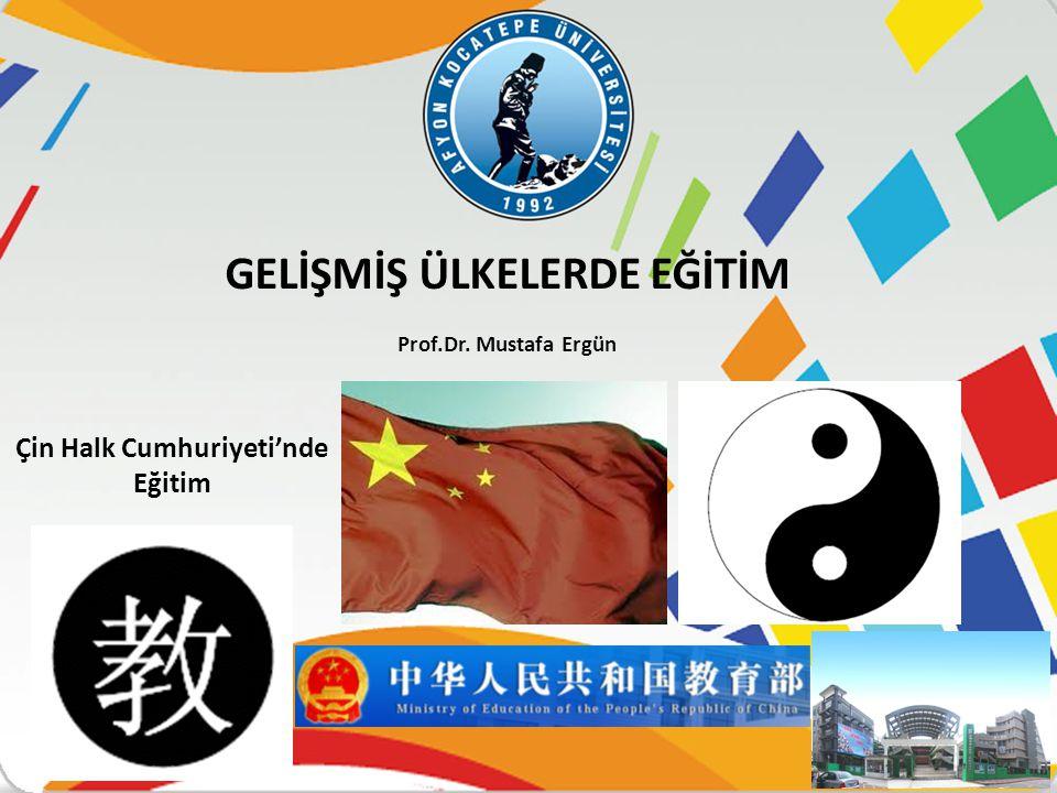 Çin Halk Cumhuriyeti'nde Eğitim