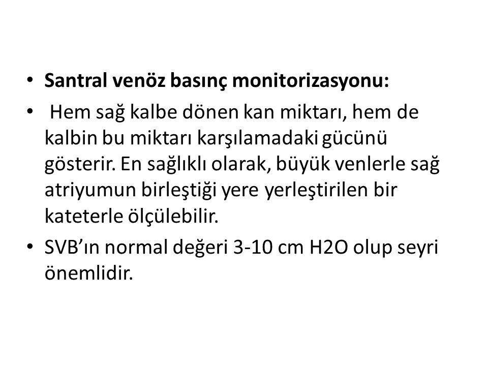 Santral venöz basınç monitorizasyonu: