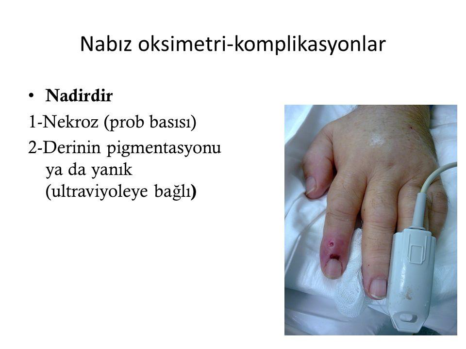 Nabız oksimetri-komplikasyonlar
