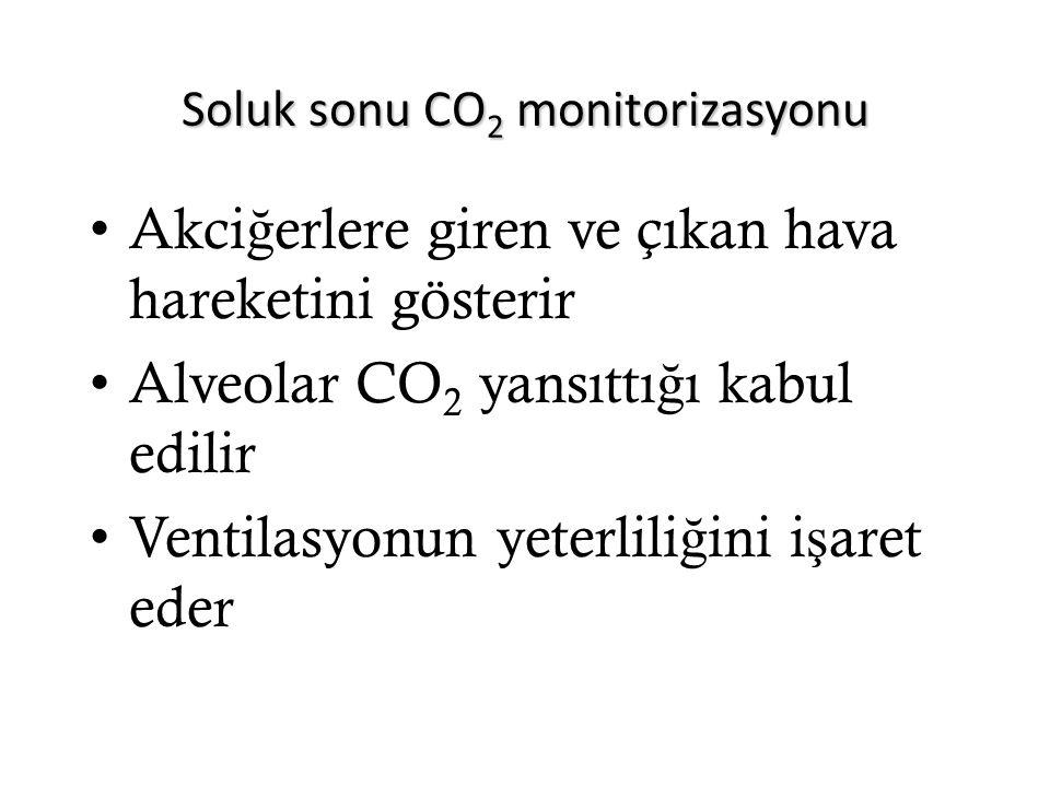 Soluk sonu CO2 monitorizasyonu