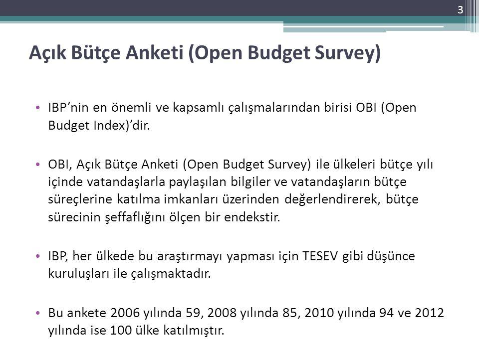 Açık Bütçe Anketi (Open Budget Survey)