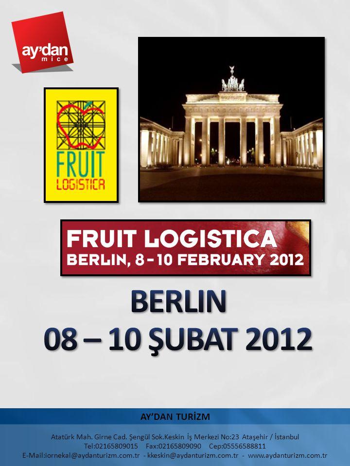 BERLIN 08 – 10 ŞUBAT 2012 AY'DAN TURİZM 4/2/2017 8:41 PM