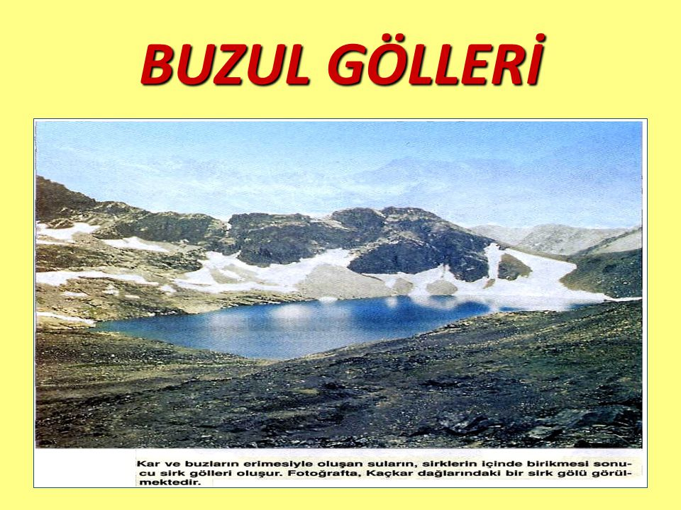 BUZUL GÖLLERİ